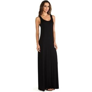 Michael Stars Black Tank Style Maxi Dress